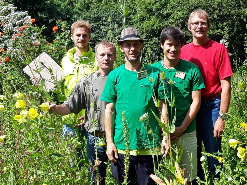 Das BUND-Team mit dem Kreisvorsitzenden Carl-Heinz Christiansen